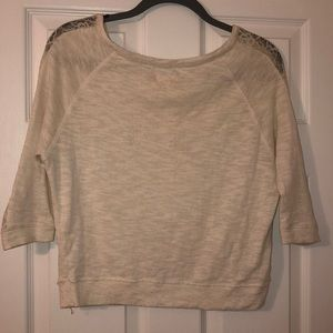 aerie Tops - Three-Quarter Sleeved Sweater